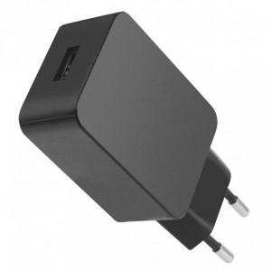 Alim. USB slim 5V 2.4A nero