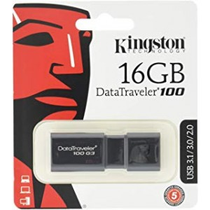 KINGSTON USB3.1 PEN DRIVE 16GB +SIAE