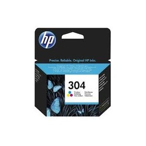 CARTUCCIA INK JET ORIGINALE HP 304 COLORE
