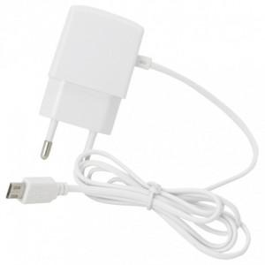 ALIMENTATORE MICRO USB 1A BIANCO