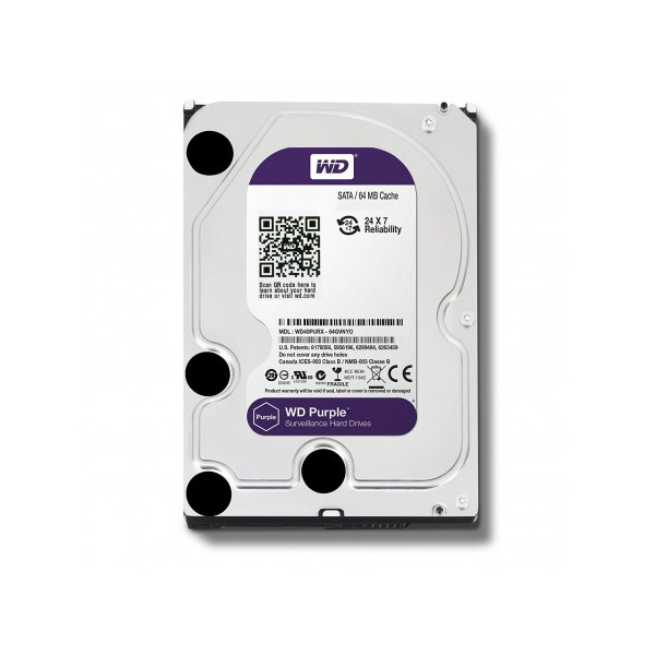 WESTERN DIGITAL HARD DISK 3,5 1TB SATA 6 64MB 5.4RPM WD10PURZ CAVIAR PURPLE
