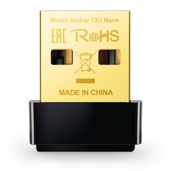 ADATT. WIFI TP-LINK AC600 NANO WRLS USB