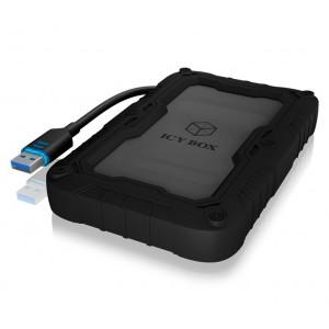 Case drive RaidSonic ICY BOX esterno - Alloggiamento da 2,5 - USB 3.0