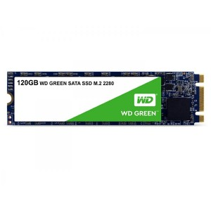 WD GREEN SSD 120GB M.2         INT SATA III 6GB/S