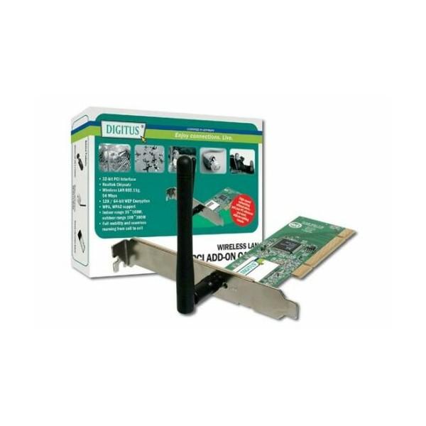 SCHEDA WIFI PCI 54MB DIGITUS