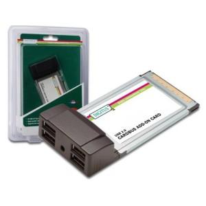 ADATT. PCCARD PCMCIA/CON4PORTE USB 2.0
