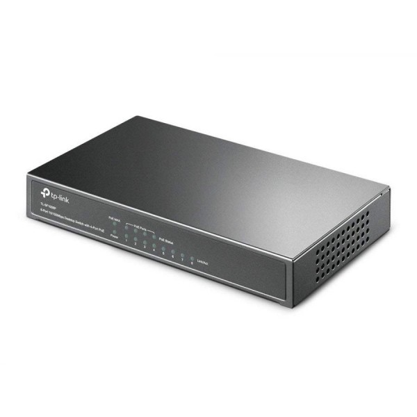 SWITCH 8 PORTE - 4 PORTE POE TP-LINK