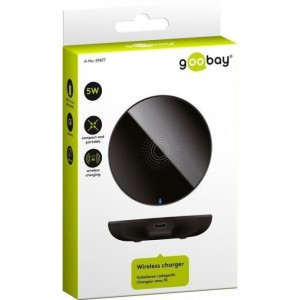 CARICATORE WIRELESS  5W NERO