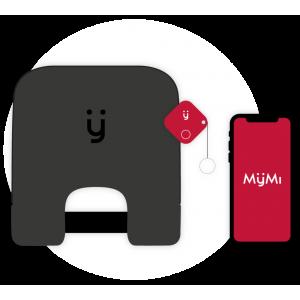 cuscino + tracker-portachiavi + app Android / iOS