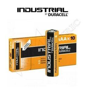DURACELL INDUSTRIAL MINI STILO AAA 1.5V PACCO DA 10PZ