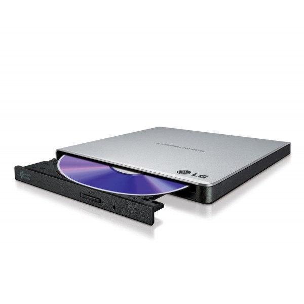 LG MASTERIZZATORE DVD ESTERNO SILVER USB 2.0 GP57ES40