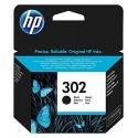 CARTUCCIA INK JET ORIGINALE HP 302 PER OFFICEJET 3830 NERO