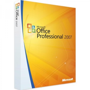 MICROSOFT OFFICE PROFESSIONAL PLUS 2007 WINDOWS