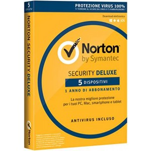 NORTON SECURITY DELUXE 2016 1UT 5DEV 12M