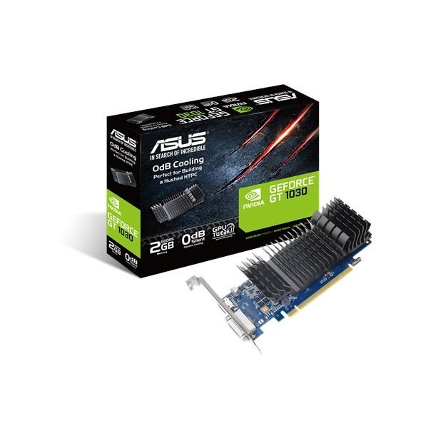 SCHEDA VIDEO ASUS VGA NVIDIA GEFORCE GT1030 2GB GDDR5 DVI-D/HDMI